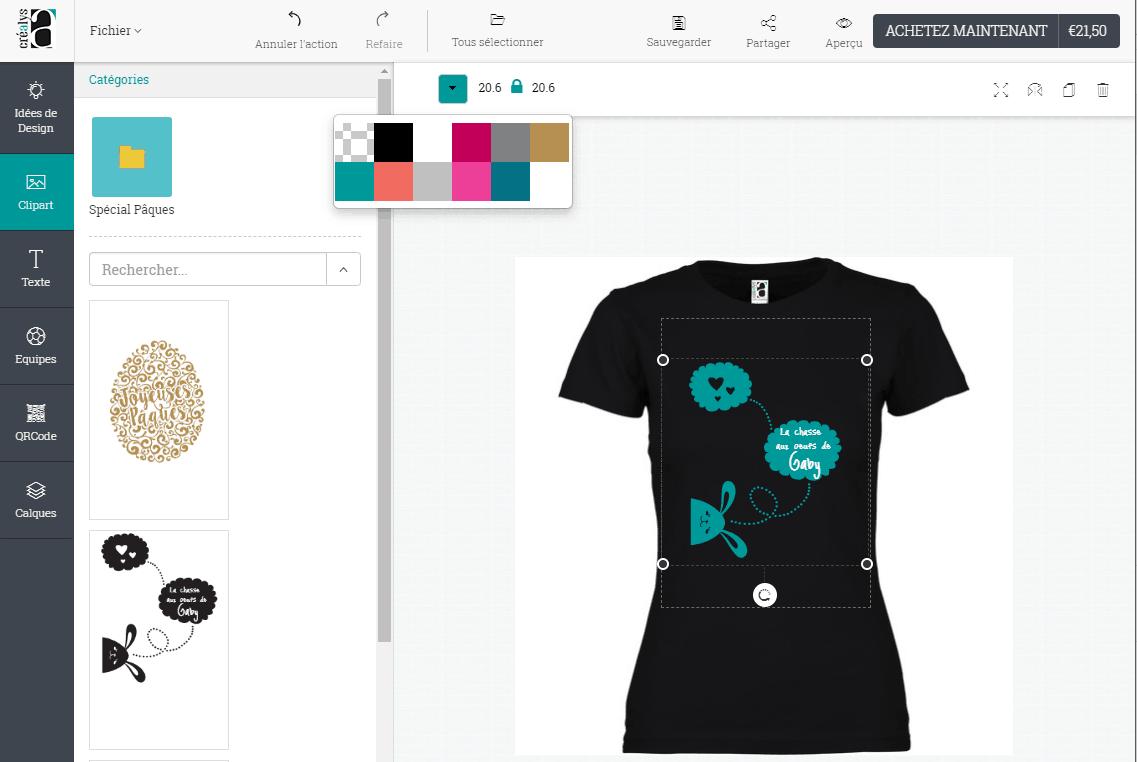 Créer votre propre T-Shirt en ligne ! – Cré